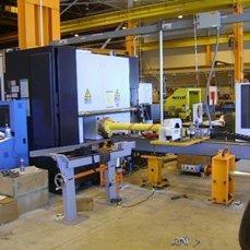 Mazak U 44 Laser Project for Manotowac Crane