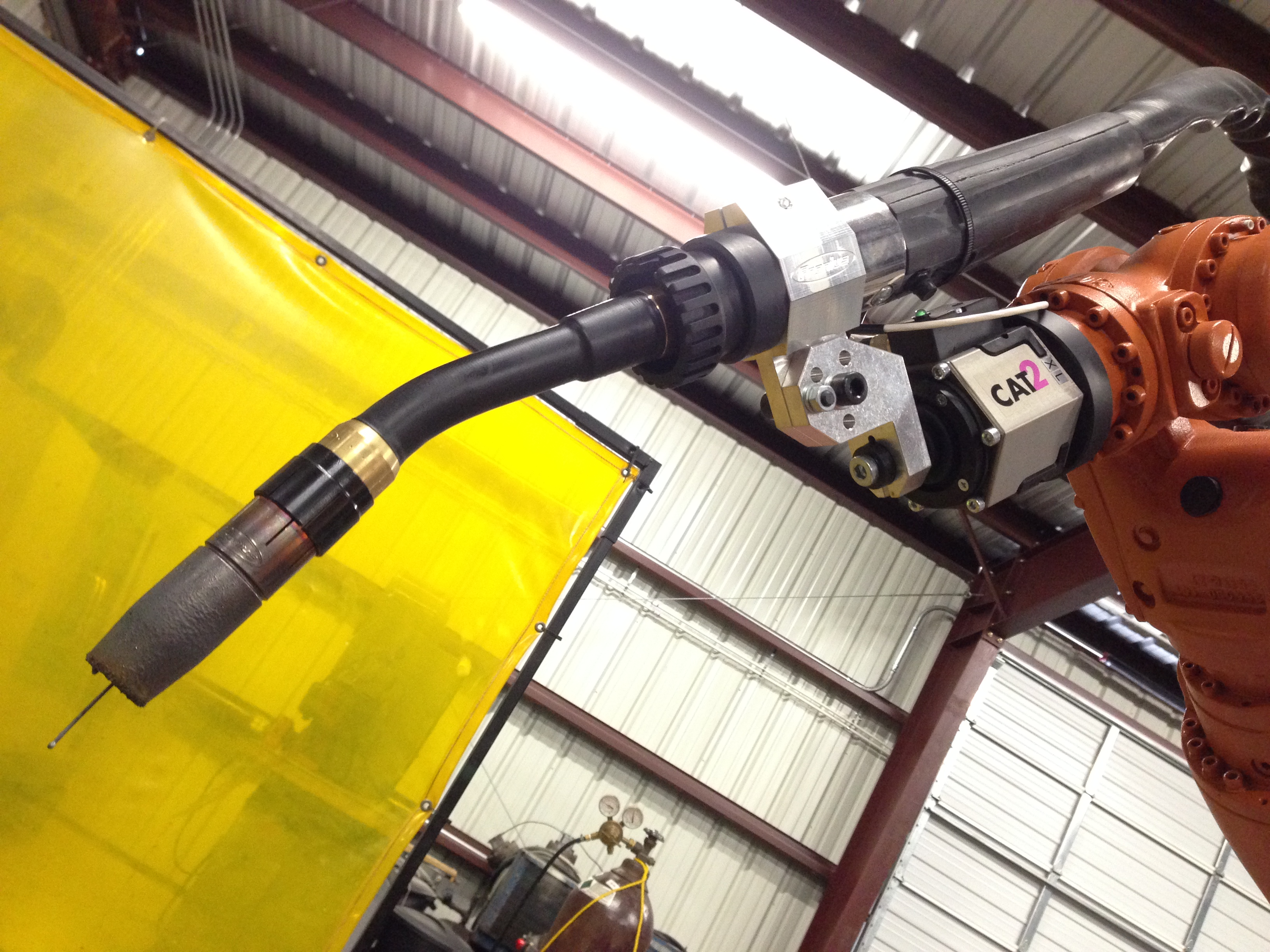 Robotic Arc Welding Custom Solutions Gmaw And Tig Vector